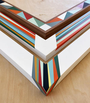 Museum Quality hand-painted hardwood frames for paintings and photographs