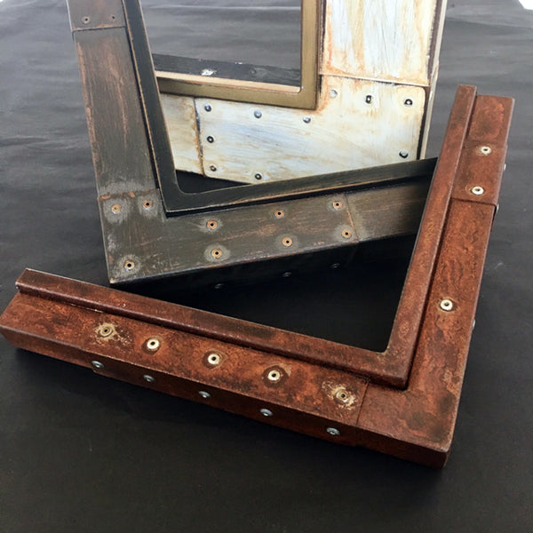 Museum Quality handcrafted welded steel and aluminum frames for photographs and paintings