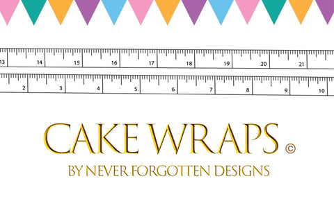 Cake Wrap© By Never Forgotten Designs