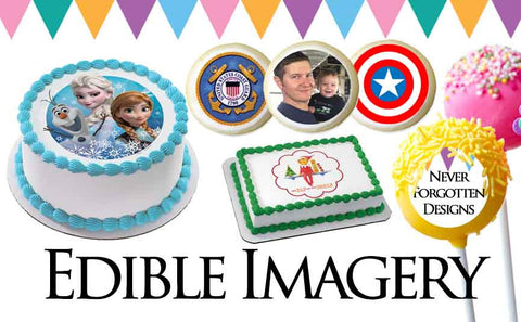 Edible Frosting Images