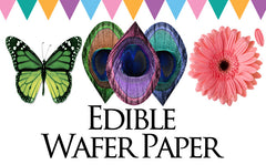 Edible Wafer Paper Designs