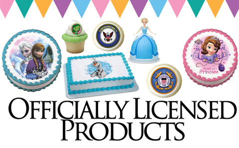 Officially Licensed Edible Cake Topper Images