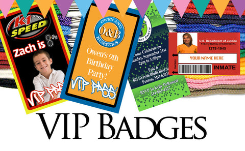 VIP BADGE Invitations