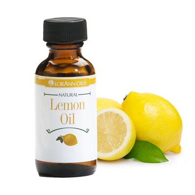LorAnn Natural Lemon Oil Flavoring