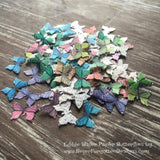 Edible Colorful Miniature Butterflies on Wafer Paper - Never Forgotten Designs
