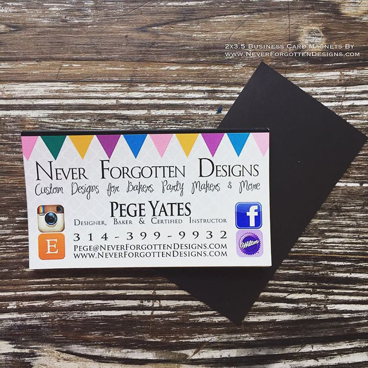 Custom Designer Magnets - Never Forgotten Designs