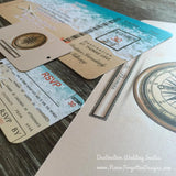 Kraft Paper Upgrade for Wedding Invitation Sets - Never Forgotten Designs