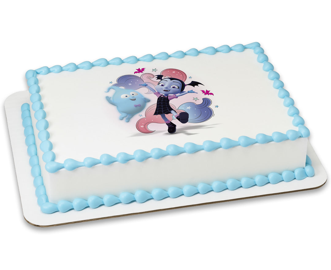 Officially Licensed Vampirina Edible Cake Image Toppers