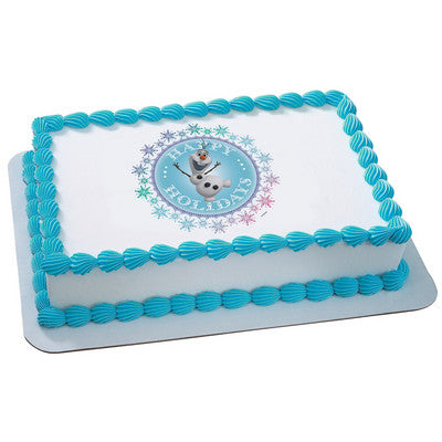 Officially Licensed Frozen Edible Cake Image Toppers ~ Anna, Elsa, Olaf & More