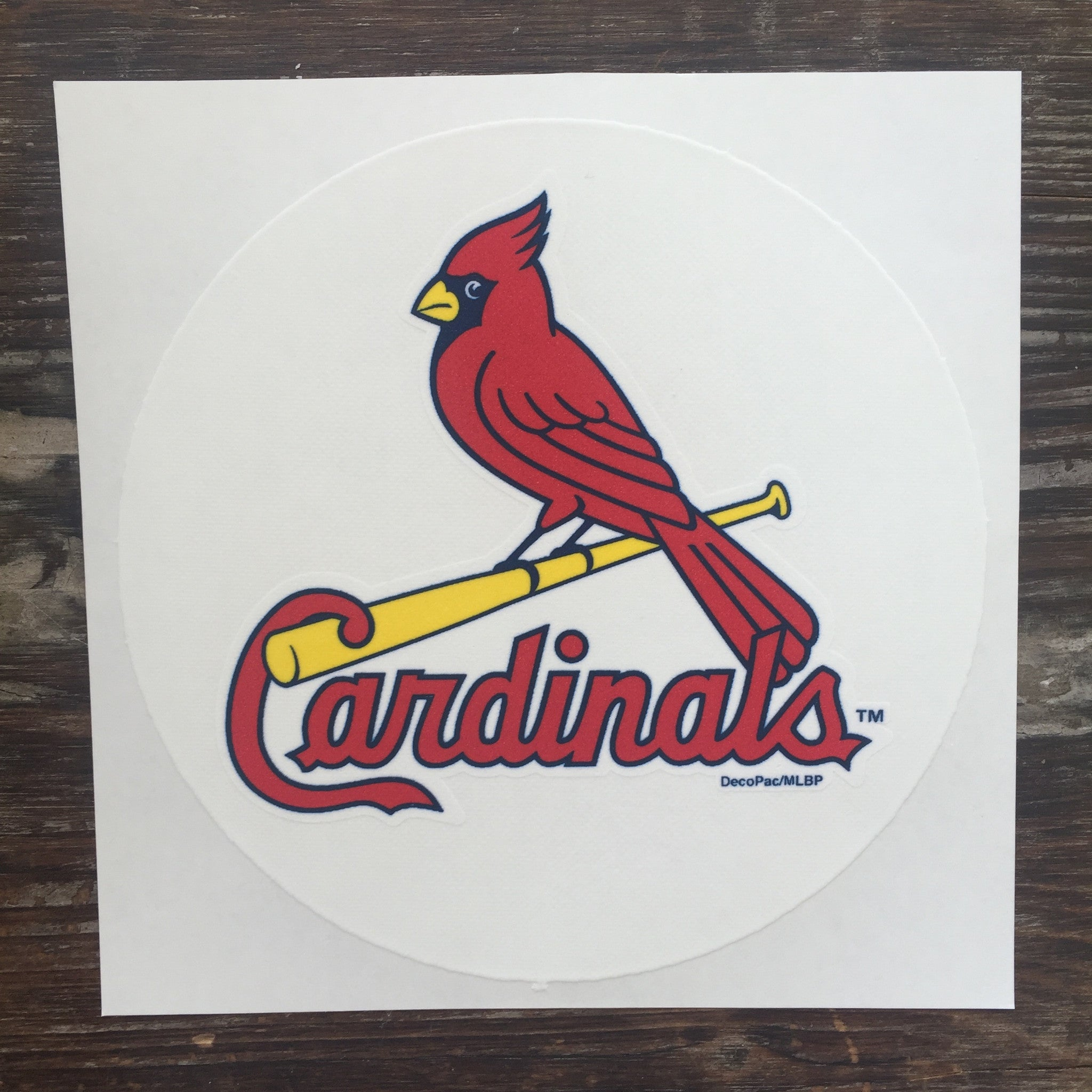 Officially Licensed Edible STL Cardinals Cake Topper