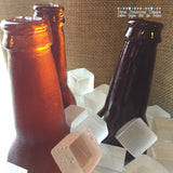 Edible Sugar Isomalt Ice Cubes & Beer Bottles for Cakes