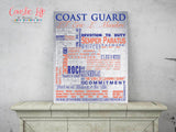 Military Career Word Art Typography Print Design
