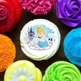 Officially Licensed Cinderella Edible Cake Image Toppers