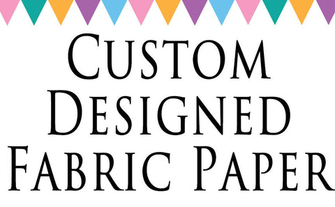 Custom Edible Image Fabric Paper