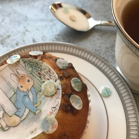 Peter Rabbit Themed Fun Food Sprinkles