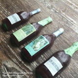 Mini Edible Wine Sugar Bottle Cupcake Topper