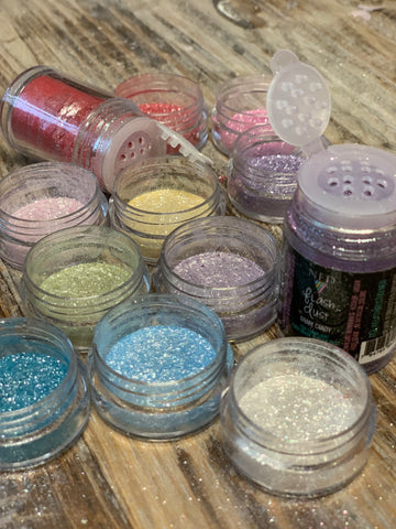 Flash Dust ™ Edible Glitter All 16 Color Set