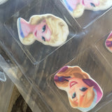 Frozen Characters SugarSoft® Decorations - Never Forgotten Designs