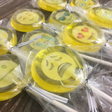 Emoji Lollipop Suckers