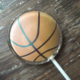 Basketball Themed Lollipop Suckers