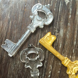 Sugar Glass Key Cupcake Topeprs