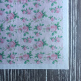 Shabby Chic Designs on Wafer Paper - Never Forgotten Designs