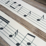 Music Scale Cake Wraps