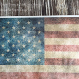 Aged Vintage Flag Edible Image on Wafer Paper