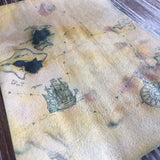 Edible Aged Pirate Map on Wafer Paper - Never Forgotten Designs
