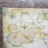 Edible Wafer Paper Pirate Map