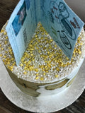 Edible Wafer Paper Passport Cake & Cupcake Topper