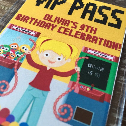 Large Custom VIP Pass - Never Forgotten Designs