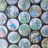 Vintage Peter Rabbit Edible Images Cupcake Cookie Toppers