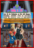 Movie Theater Photo Birthday Party Invitation - Never Forgotten Designs