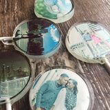 Photo Hard Candy Sucker Lollipop Favors - Never Forgotten Designs
