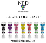 Progel Color Gel Paste Colors