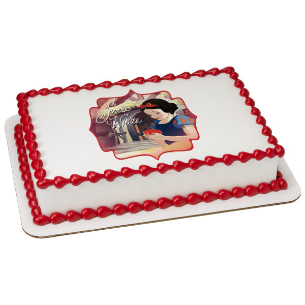 Officially Licensed Snow White Edible Cake Image Toppers