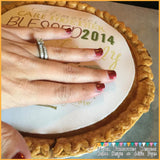 Personalized Edible Image for Pumpkin Pies on Frosting Paper - Never Forgotten Designs