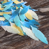 Edible Custom Colored Feathers