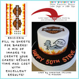 Edible Images to Make an HARLEY DAVIDSON Cake