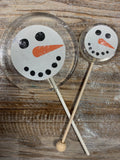Large & Small Snowman Lollipops