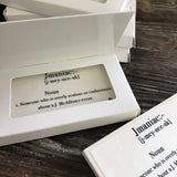 Business Card Chocolate Box Set