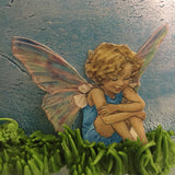 Edible Vintage Fairy Cupcake & Cake Toppers on Thick Wafer Paper