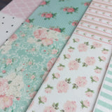 Edible Fabric Paper Bandanas Blue Jean Shabby Chic and More