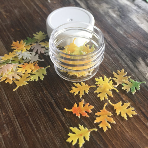 Edible Miniature Fall Leaves