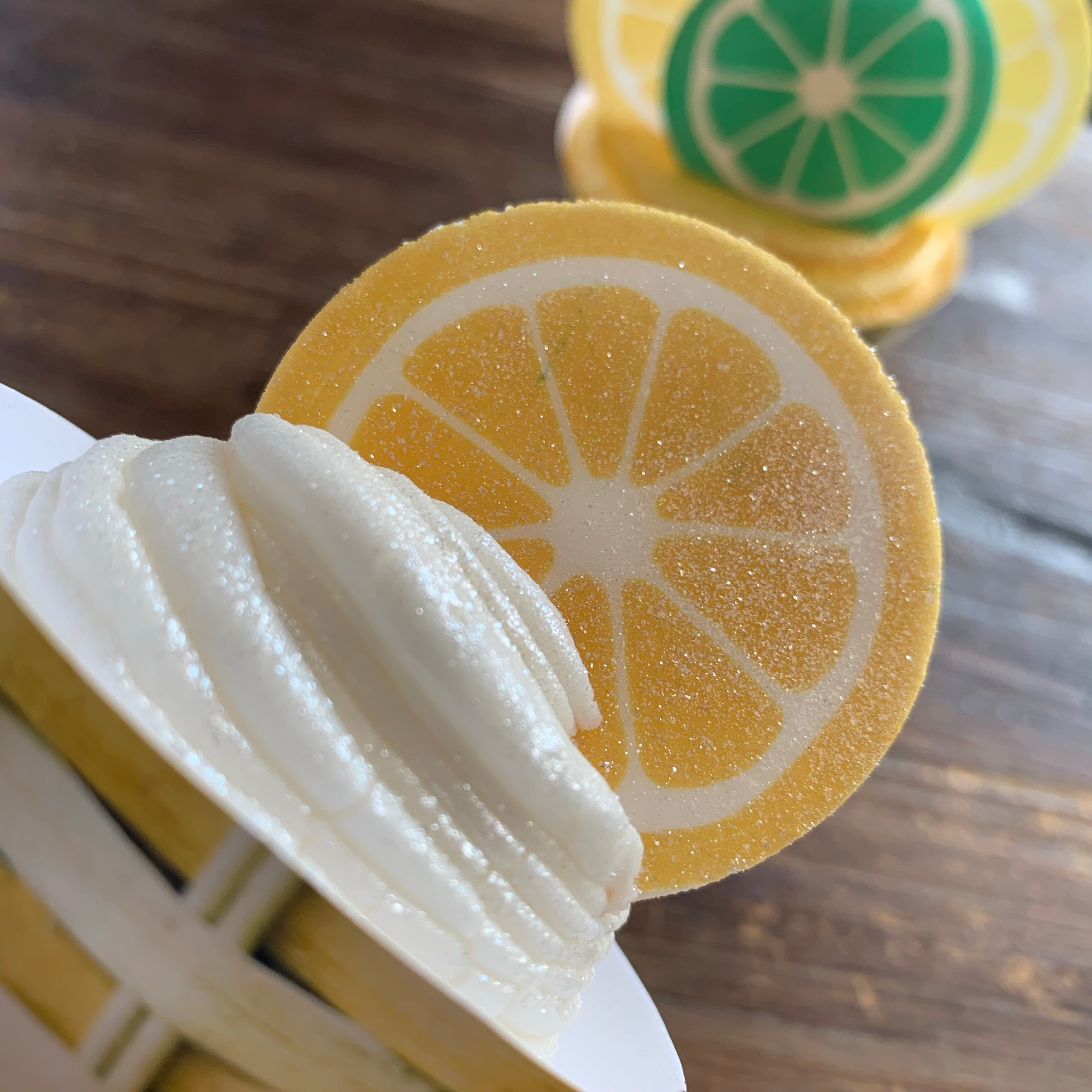 Citrus Lemon Lime Orange Wafer Paper Slices