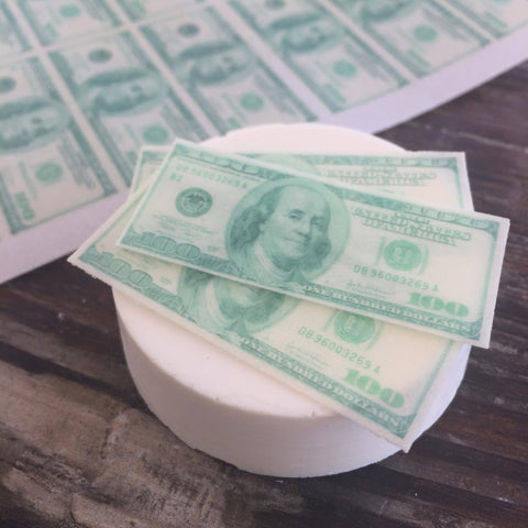 Mini Edible $100 Bill Money Fun Food Sprinkles