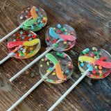 Sour Gummy Worms & Nerd Candy Lollipops Suckers