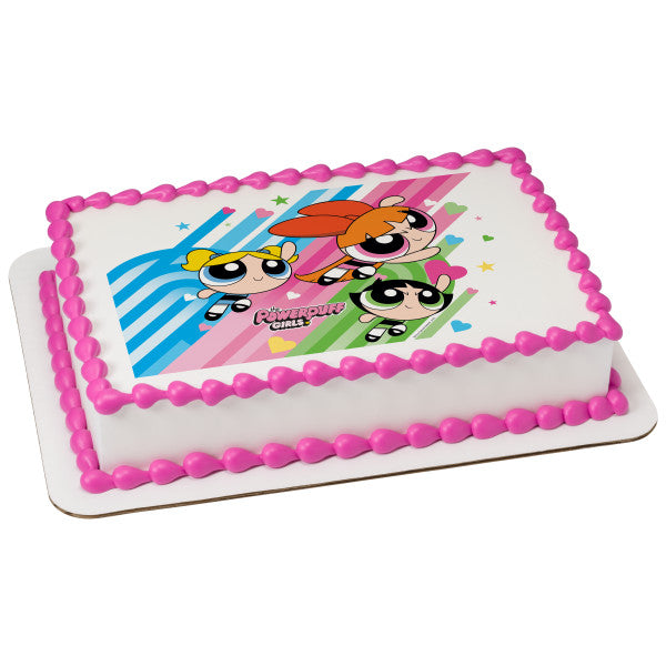 Officially Licensed Powerpuff Girls Edible Cake Image Toppers