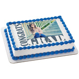Graduation Edible Cake Image Toppers for Graduate